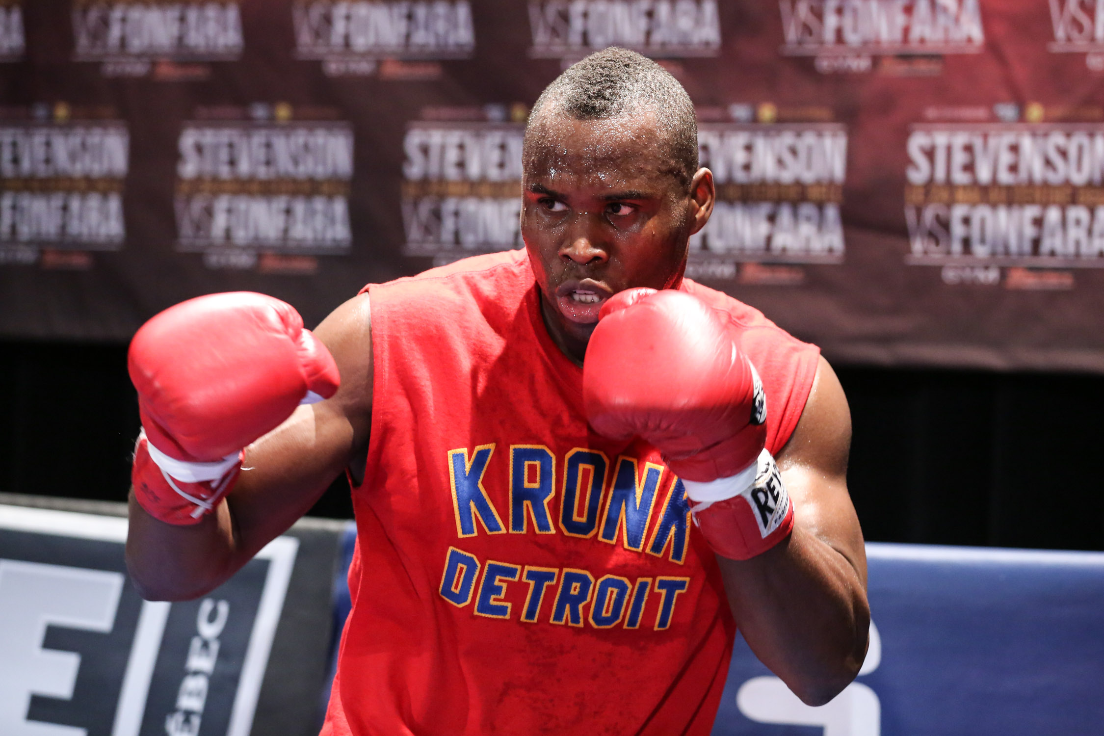 While some criticize Adonis Superman Stevenson when it comes to his record and level of opponents he feels that hes done enough to earn respect and