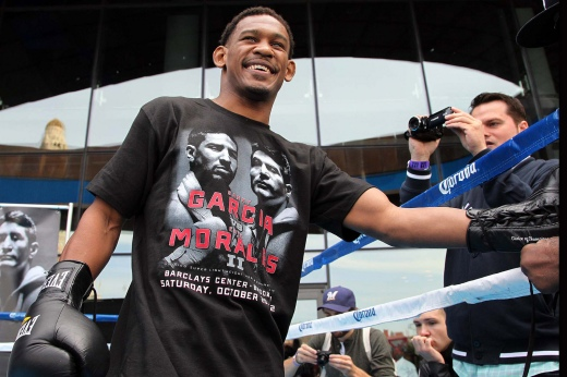 Danny Jacobs open workout Barclay Center 2012